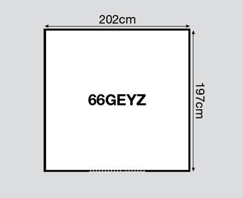 Yardmaster Metallgerätehaus Bayern 66 dunkelgrün 202x197cm Bild 2