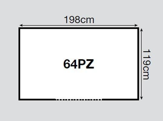 Yardmaster Metallgerätehaus Titanium 64 silber Pultdach 198x119cm Bild 2