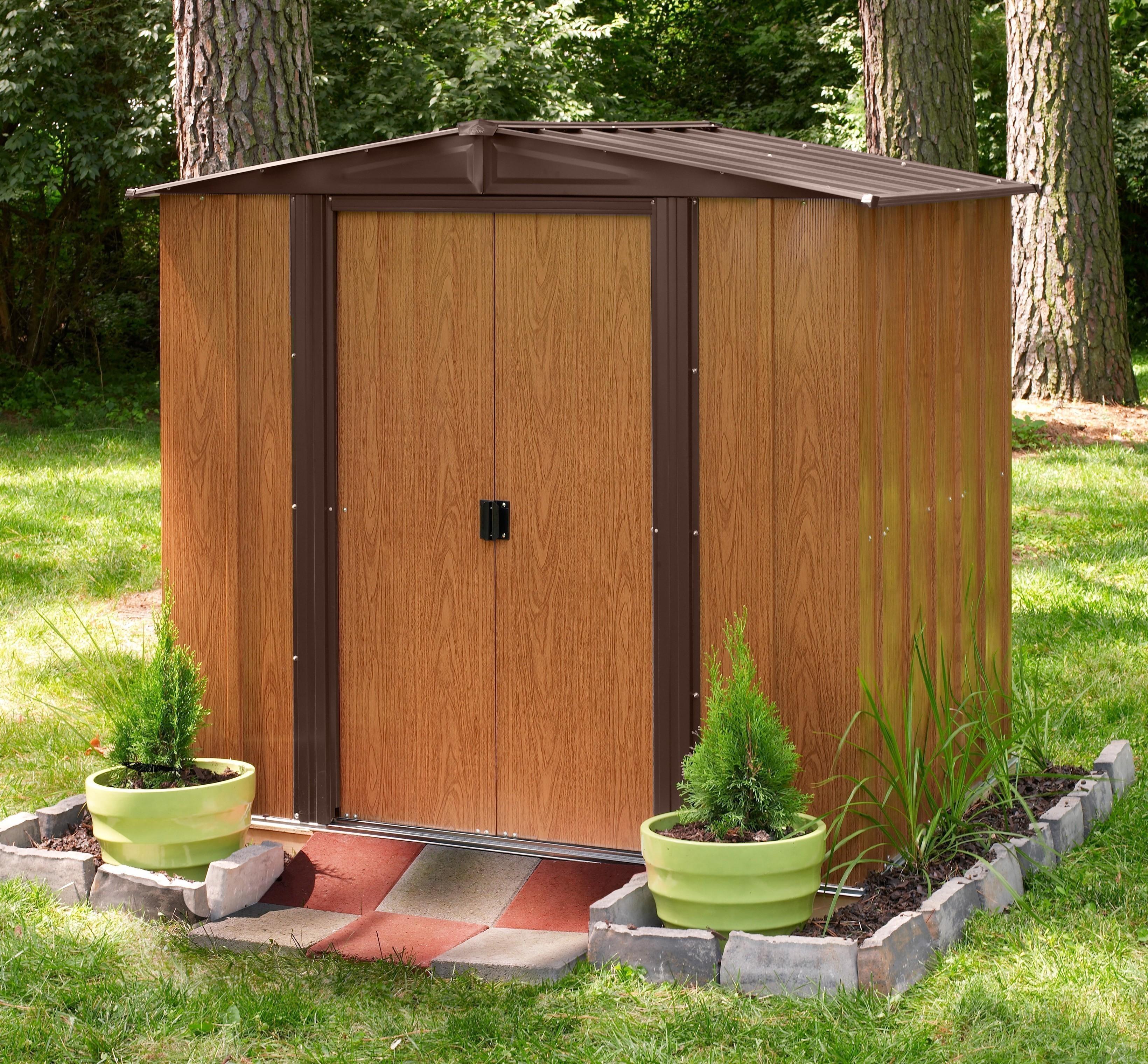 arrow metall ger tehaus kiel 65 holzoptik 194x151cm bei. Black Bedroom Furniture Sets. Home Design Ideas