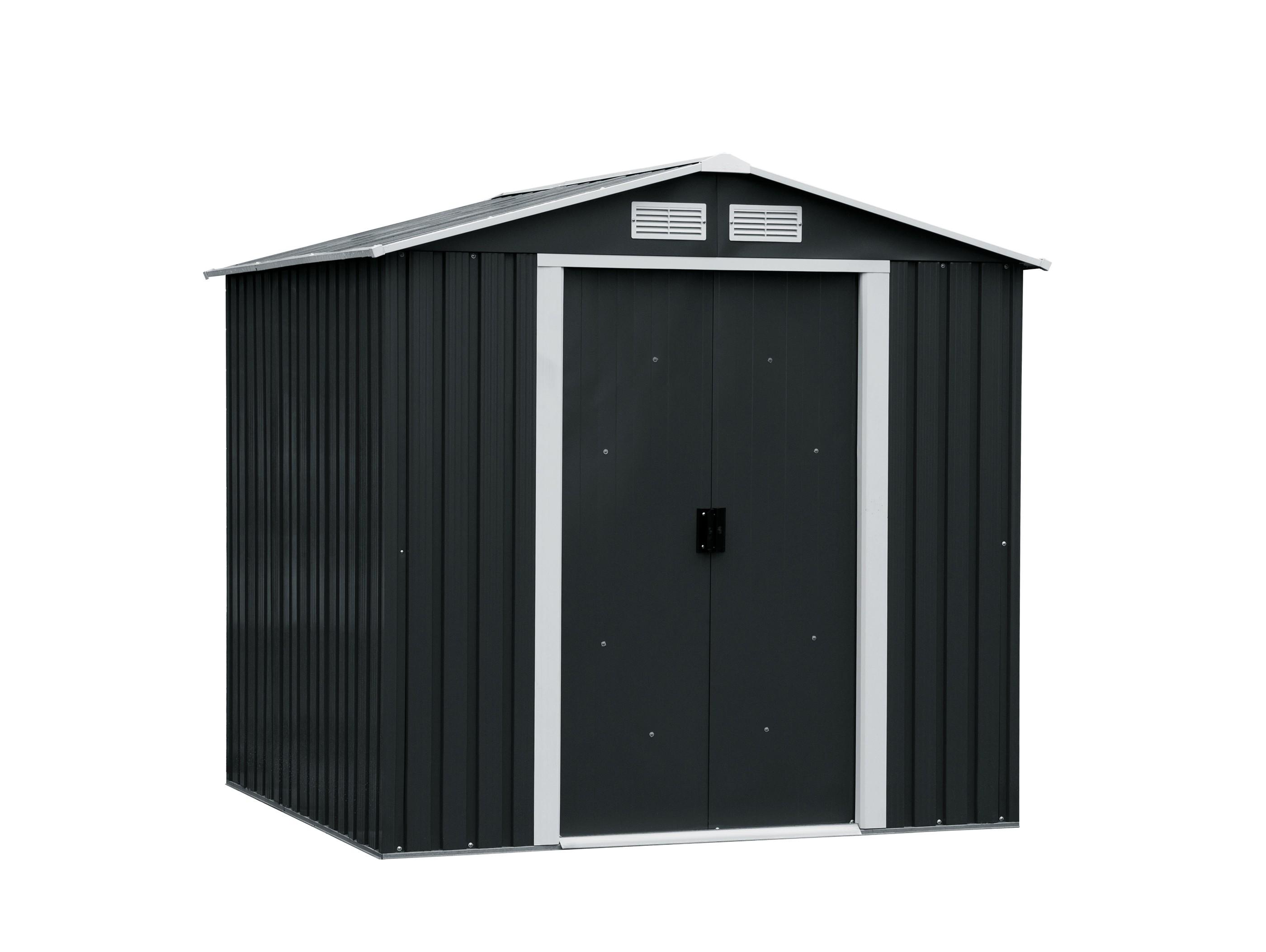 tepro ger tehaus metall riverton 6x6 unterkonstr anthrazit 201x182 3 bei. Black Bedroom Furniture Sets. Home Design Ideas