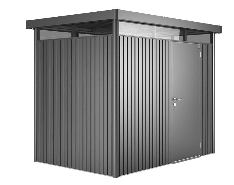 ger tehaus biohort highline h2 dunkelgrau metallic 275x195cm bild 1. Black Bedroom Furniture Sets. Home Design Ideas