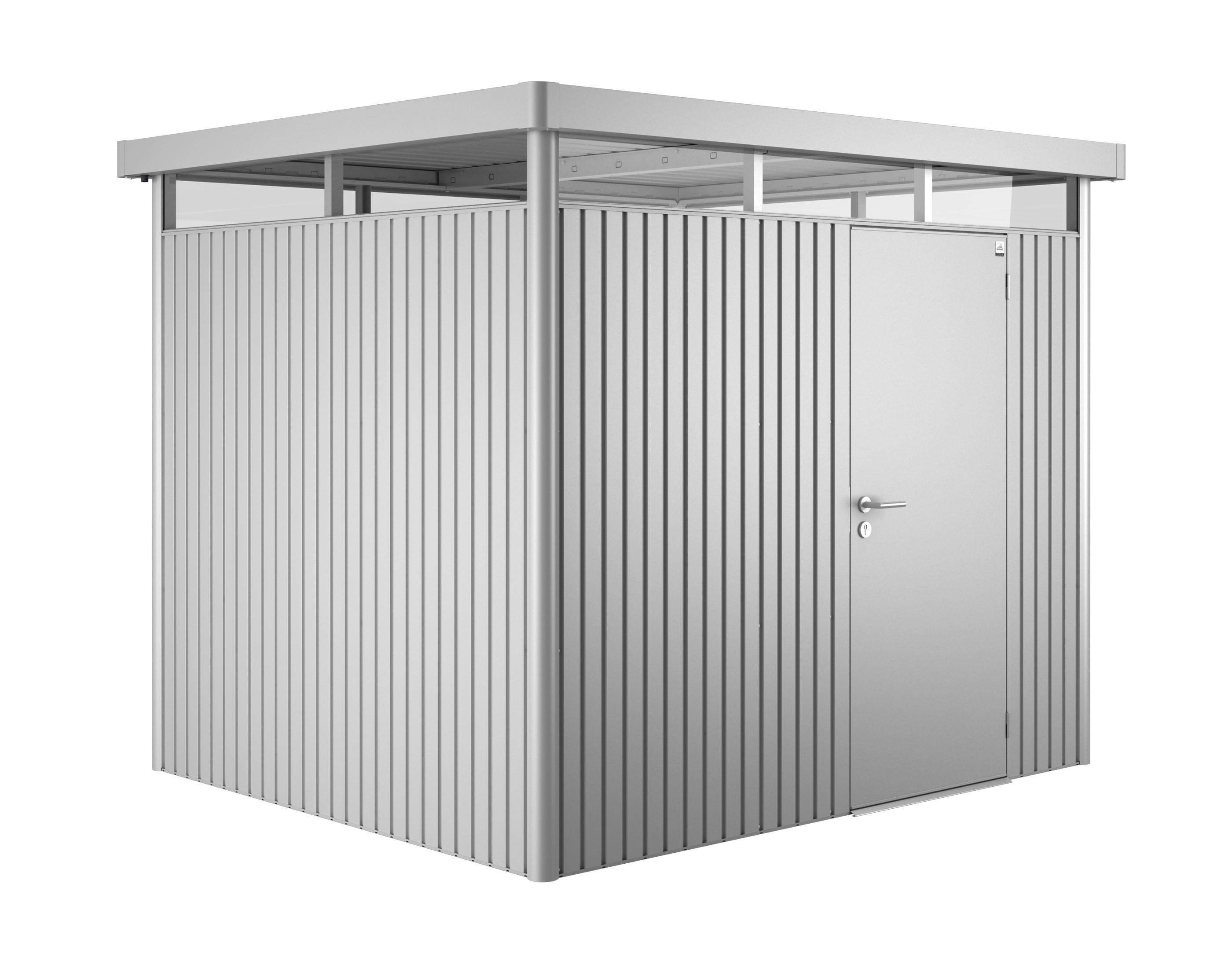 ger tehaus biohort highline h3 silber metallic 275x235x222cm bei. Black Bedroom Furniture Sets. Home Design Ideas