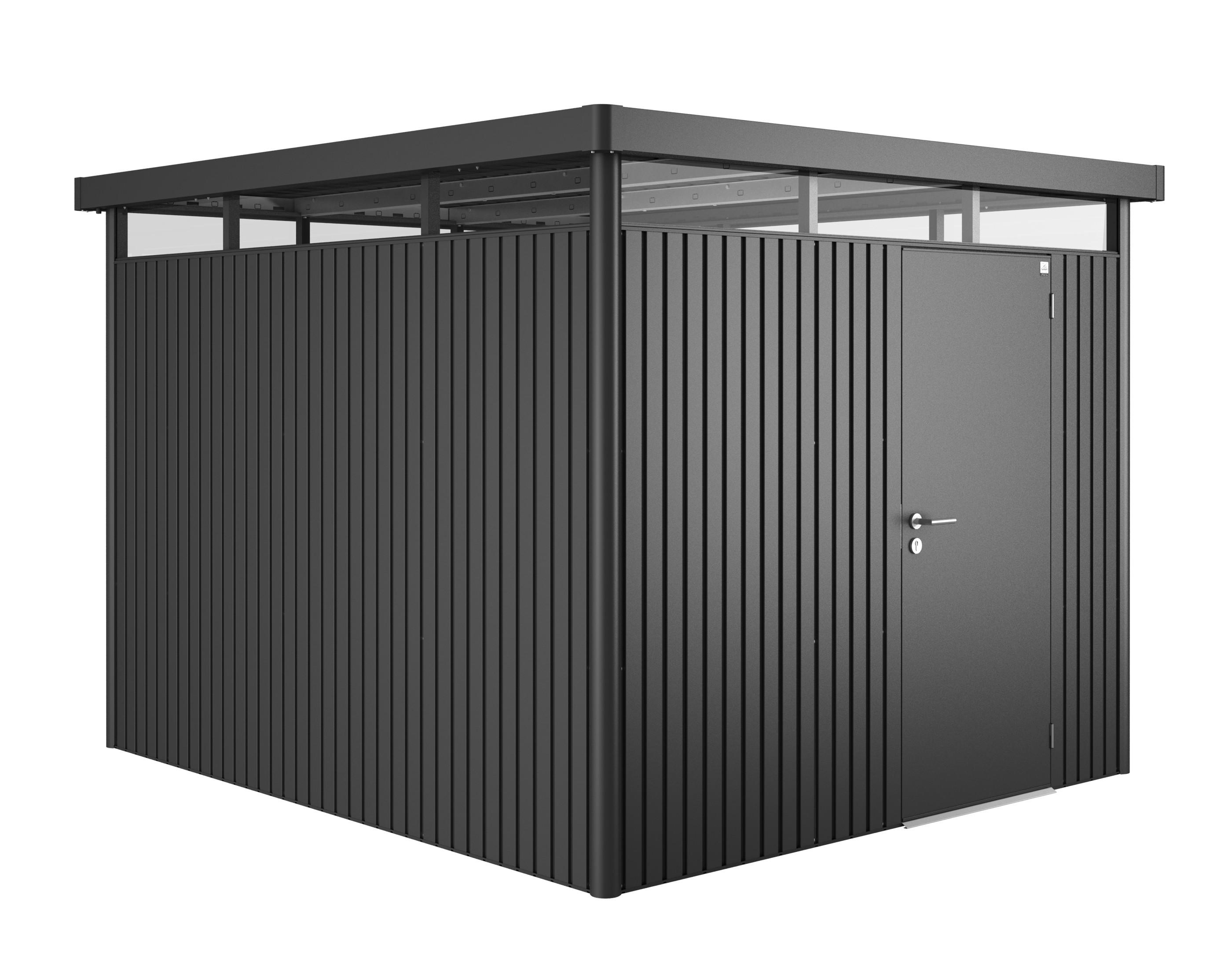 ger tehaus biohort highline h5 dunkelgrau metallic 275x315x222cm bei. Black Bedroom Furniture Sets. Home Design Ideas