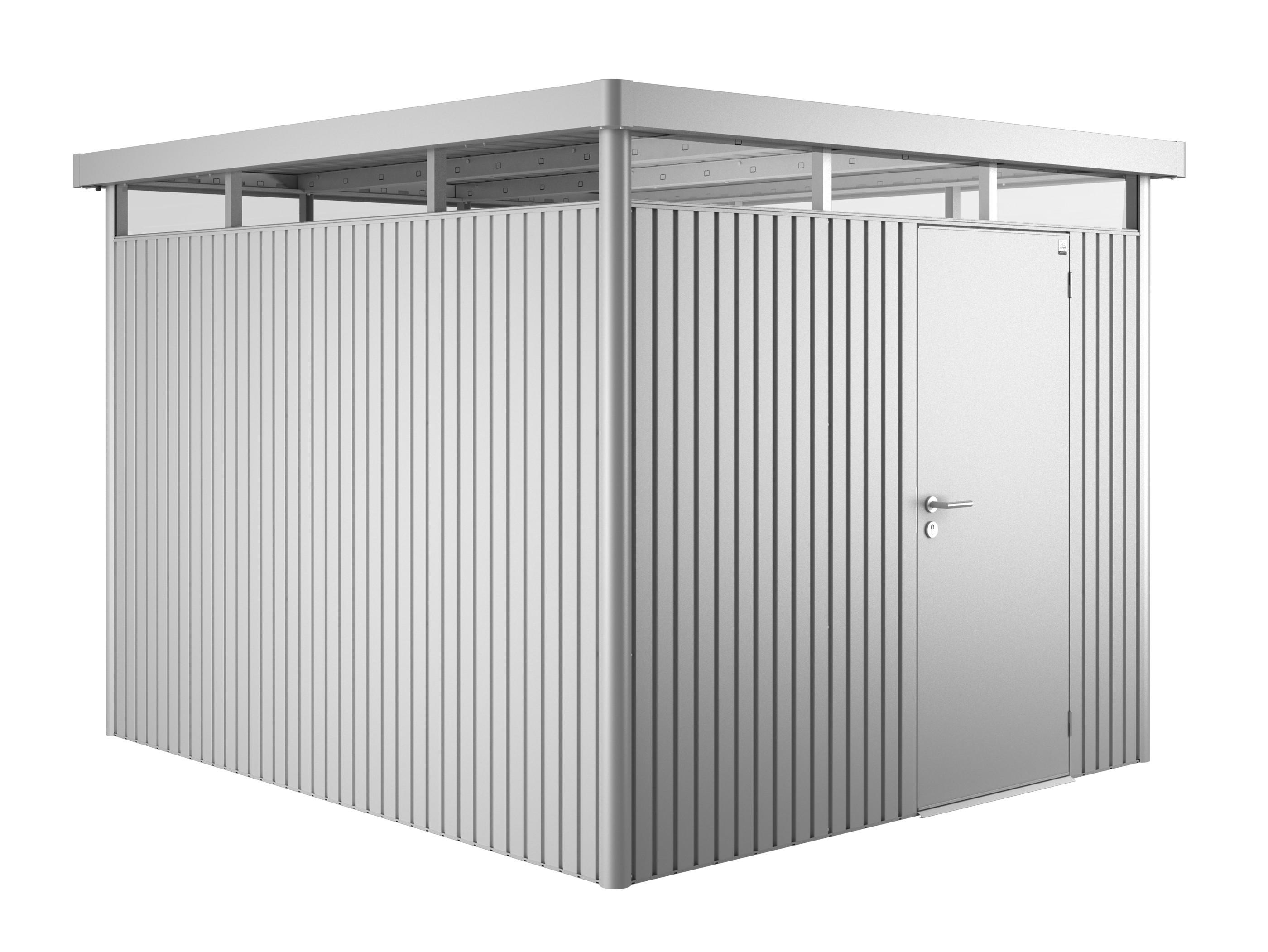 ger tehaus biohort highline h5 silber metallic 275x315x222cm bei. Black Bedroom Furniture Sets. Home Design Ideas