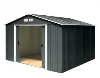 tepro ger tehaus metall colossus 10x12 unterkonstr anthr 321x362cm bei. Black Bedroom Furniture Sets. Home Design Ideas