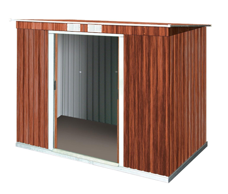 tepro ger tehaus metall pent roof 8x4 unterkonstr. Black Bedroom Furniture Sets. Home Design Ideas