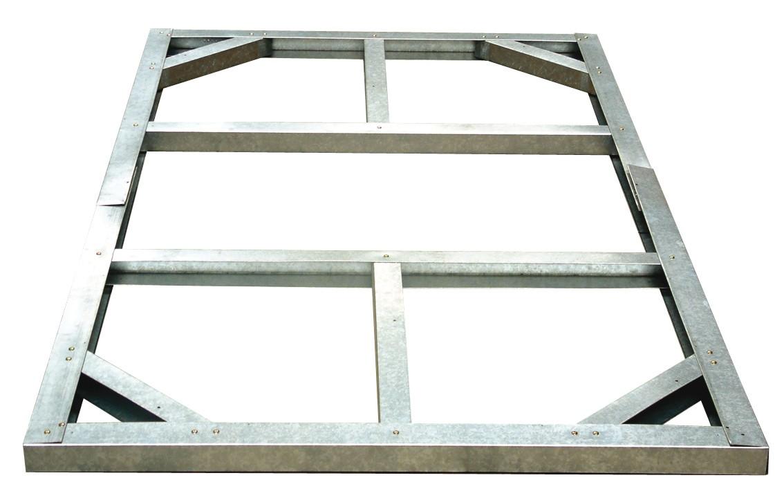 tepro ger tehaus metall riverton 6x4 unterkonstr. Black Bedroom Furniture Sets. Home Design Ideas