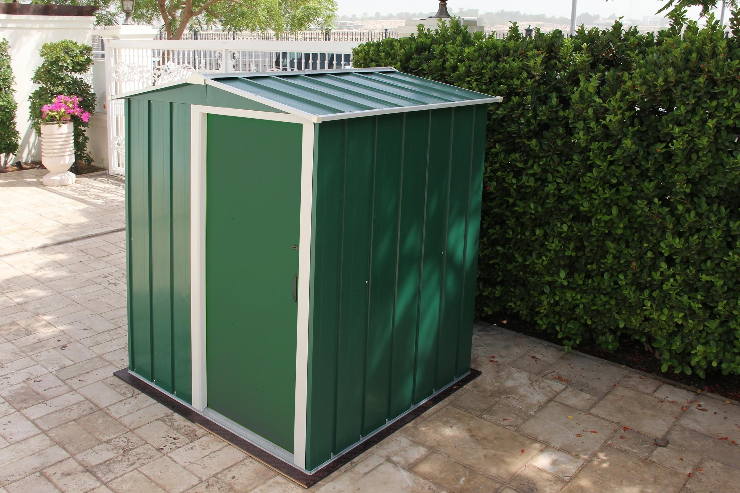 duramax ger tehaus metall eco 5x4 gr n 162x122 cm bei. Black Bedroom Furniture Sets. Home Design Ideas
