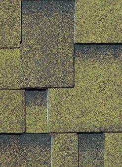 Bitumen Dachschindeln Karibu asymmetrisch selbstklebend zedernholz 3m² Bild 1