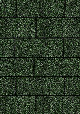 Bitumen Dachschindeln Karibu rechteckig dunkelgrün 3m² Bild 1