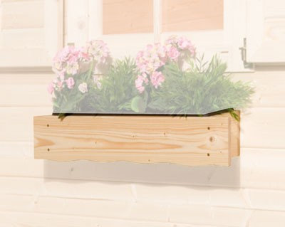 Blumenkasten 60 cm zu Weka Gartenhaus Bild 1