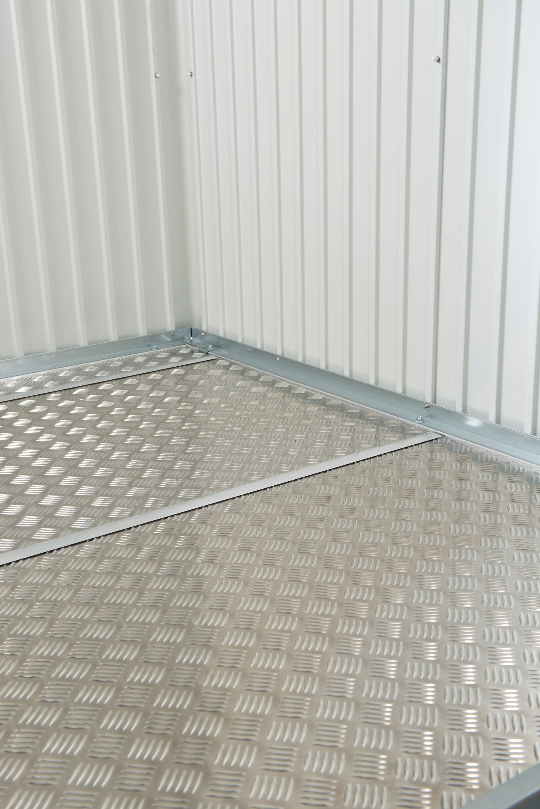 Bodenplatte Alu für Biohort Gerätehaus Gr.XL / H4 243,5x243,5cm Bild 1