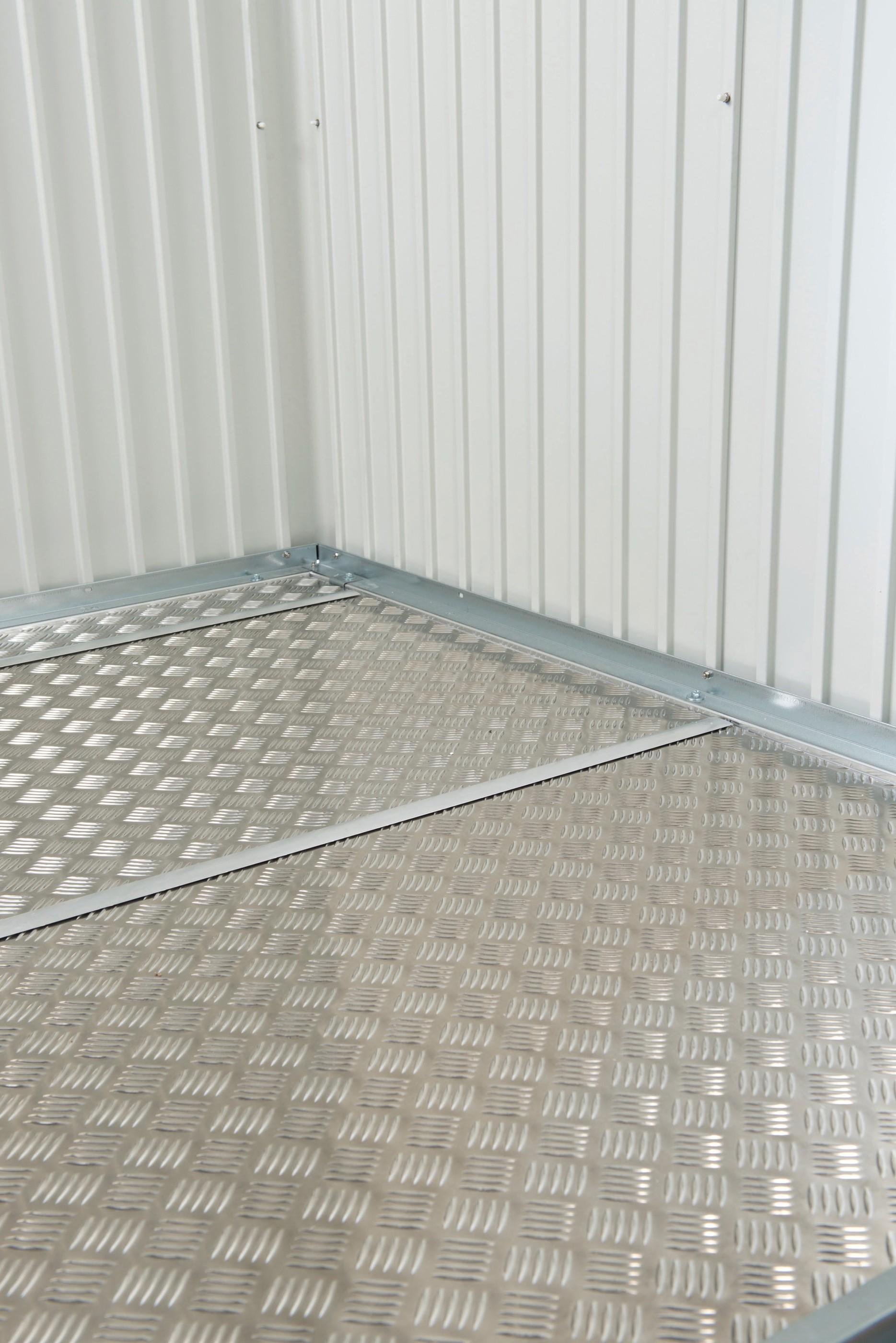 Bodenplatte Alu für Biohort Gerätehaus HighLine H1 243,5x123,5cm Bild 1