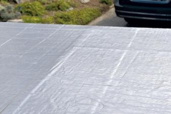 Dachbahn selbstklebend für Flachdach anthrazit 5m² Bild 1