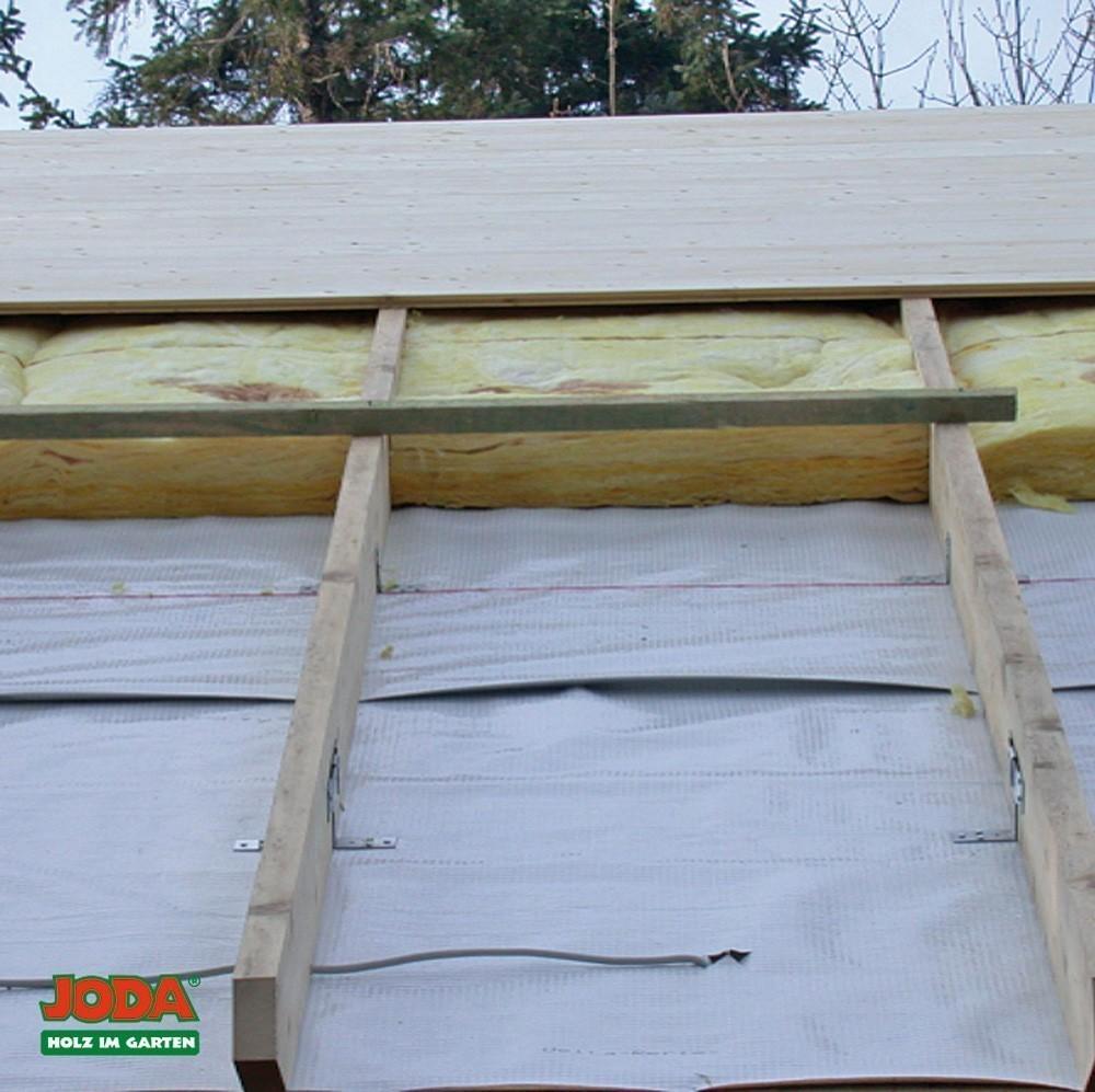 doppelschalung dach für joda gartenhaus schliksee - bei edingershops.de