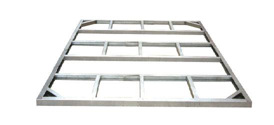 duramax fundament f r titan 8x6 252 2x172cm bei. Black Bedroom Furniture Sets. Home Design Ideas