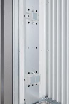 Elektro-Montagepaneel für Biohort Gartenhaus Europa und Geräteschrank Bild 1