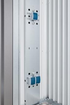 Elektro-Montagepaneel für Biohort Gartenhaus Europa und Geräteschrank Bild 2