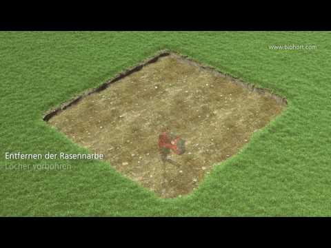 Erdschrauben Fundament für Biohort Gartenhaus Europa 5 und 6 Video Screenshot 1703