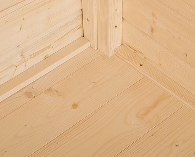 Fußboden 19mm für Weka Gerätehaus Gardenbox 2 natur 180x130cm Bild 1