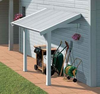grosfillex schleppdach f r gartenhaus und ger tehaus 2 22x1 41x1 41m bild 1. Black Bedroom Furniture Sets. Home Design Ideas