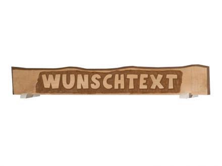 Schild mit individuellem Text Weka Massivholz 185x23cm Bild 1