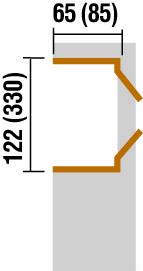 Schleppdach mit Anbauschrank Weka Gr. 2 ab Haustiefe 300cm Bild 2