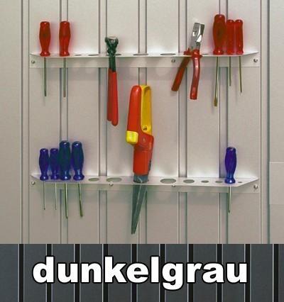 Werkzeughalter 2er-Set für Biohort Avantgarde dunkelgrau-metallic Bild 1