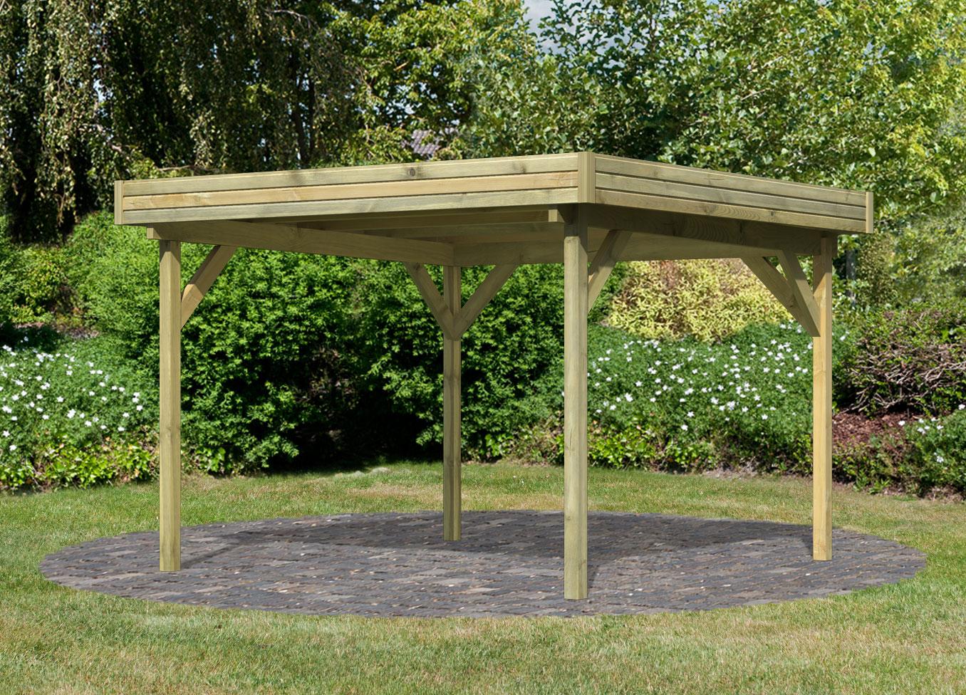 gartenpavillon selber bauen swalif. Black Bedroom Furniture Sets. Home Design Ideas