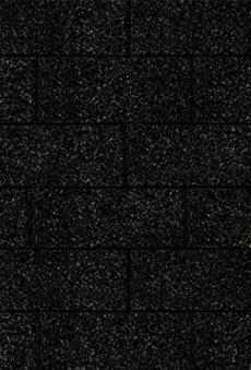Bitumen Dachschindeln Karibu rechteckig schwarz 3m²