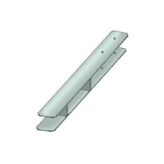 Pfostenanker / H-Pfostenanker Karibu 9x9cm Länge 60cm