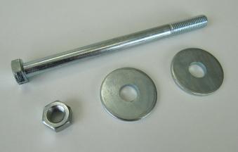 Schrauben Set M12x160 für H-Anker 120x120 mm Bild 2