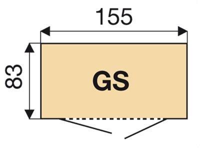 Biohort Geräteschrank 150 silber-metallic 155x83x182,5cm Bild 3