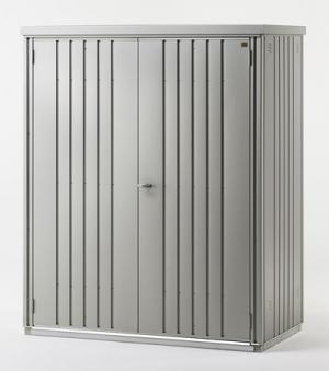 Biohort Geräteschrank 150 silber-metallic 155x83x182,5cm Bild 1