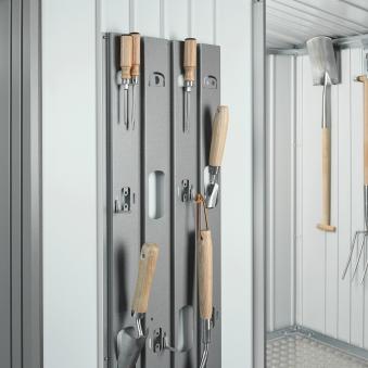 Biohort Geräteschrank 150 silber-metallic 155x83x182,5cm Bild 2