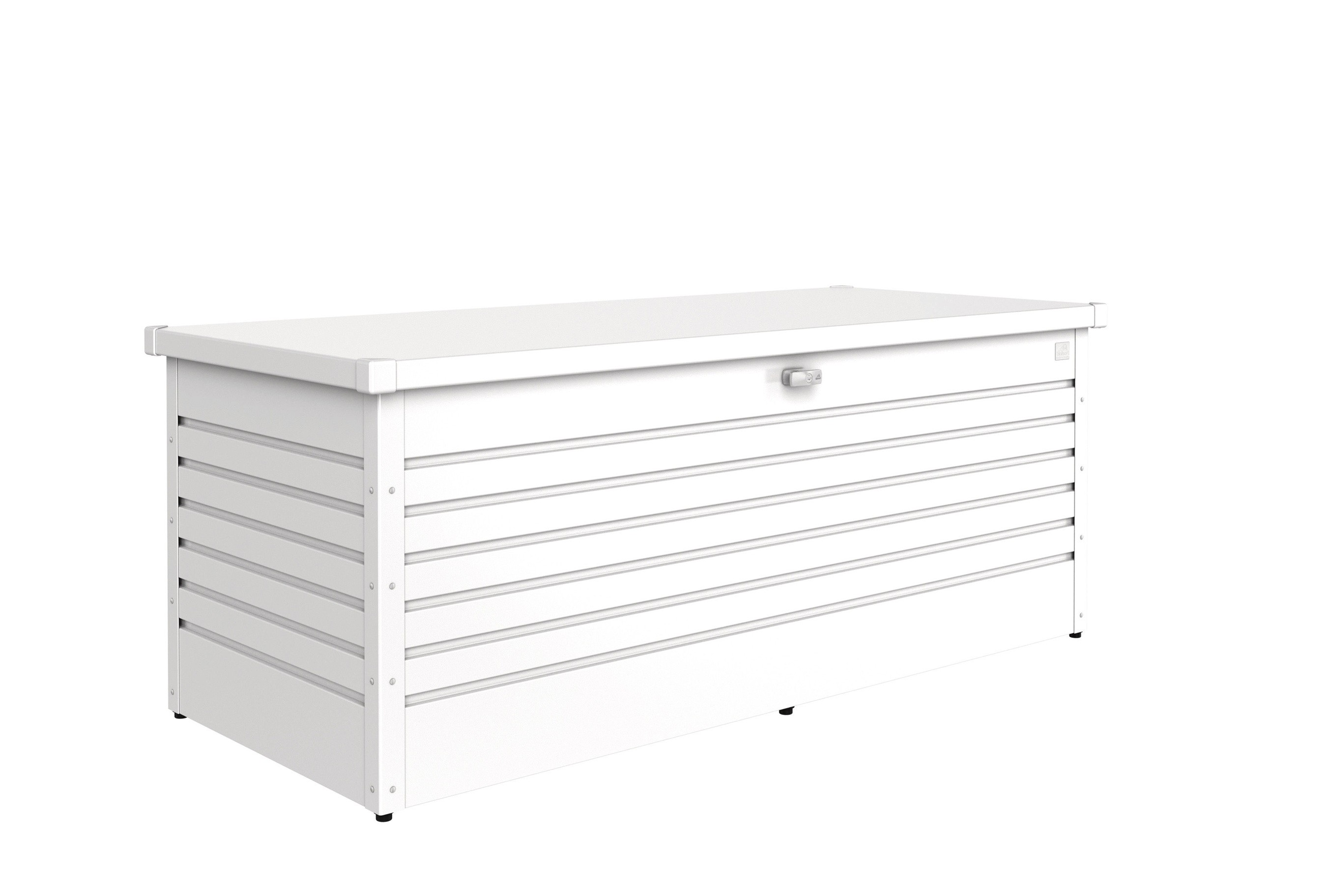 gartenbox auflagenbox biohort freizeitbox 180 weiss bei. Black Bedroom Furniture Sets. Home Design Ideas