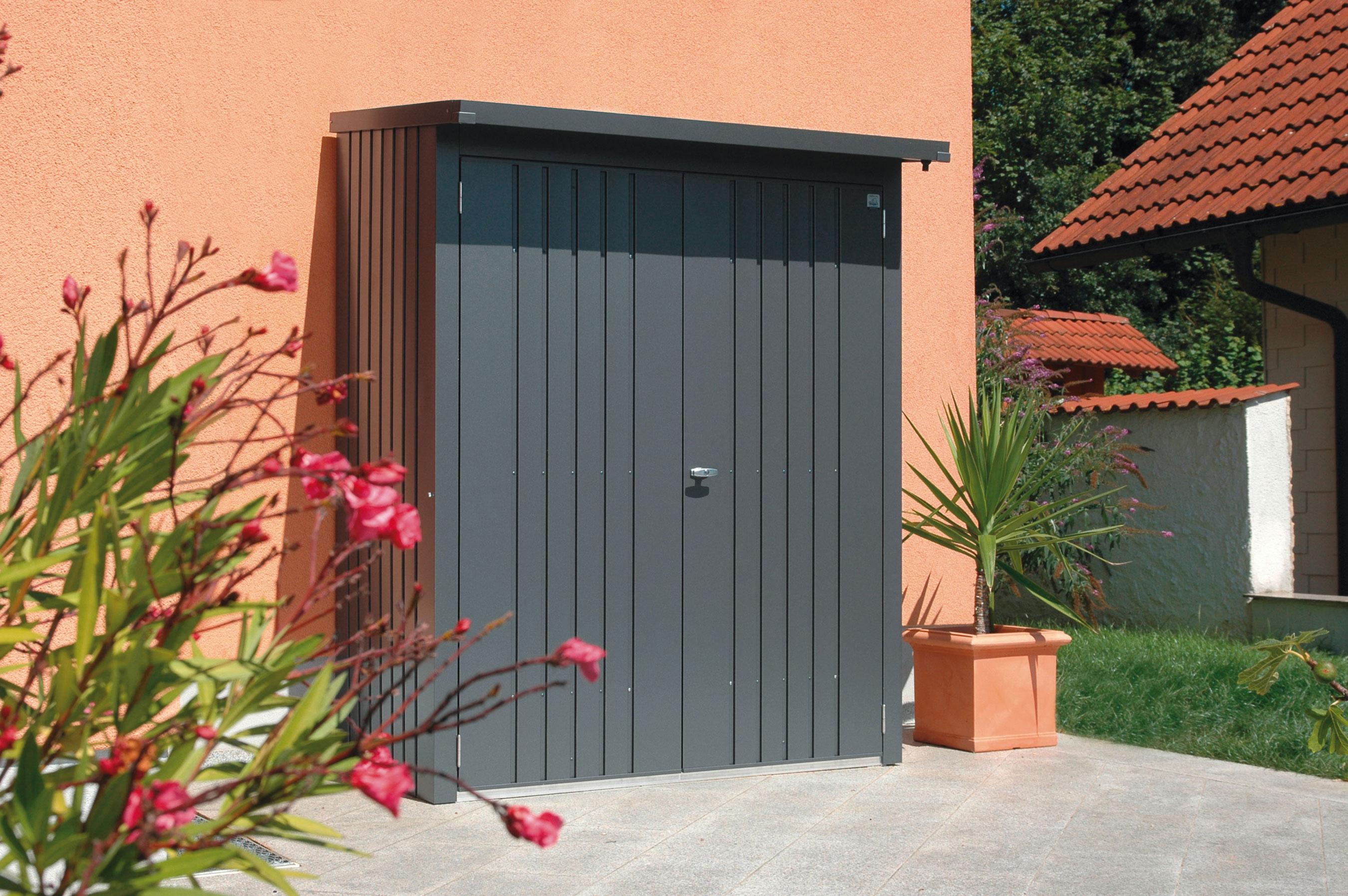 kaminholzregal ger teschrank biohort woodstock. Black Bedroom Furniture Sets. Home Design Ideas