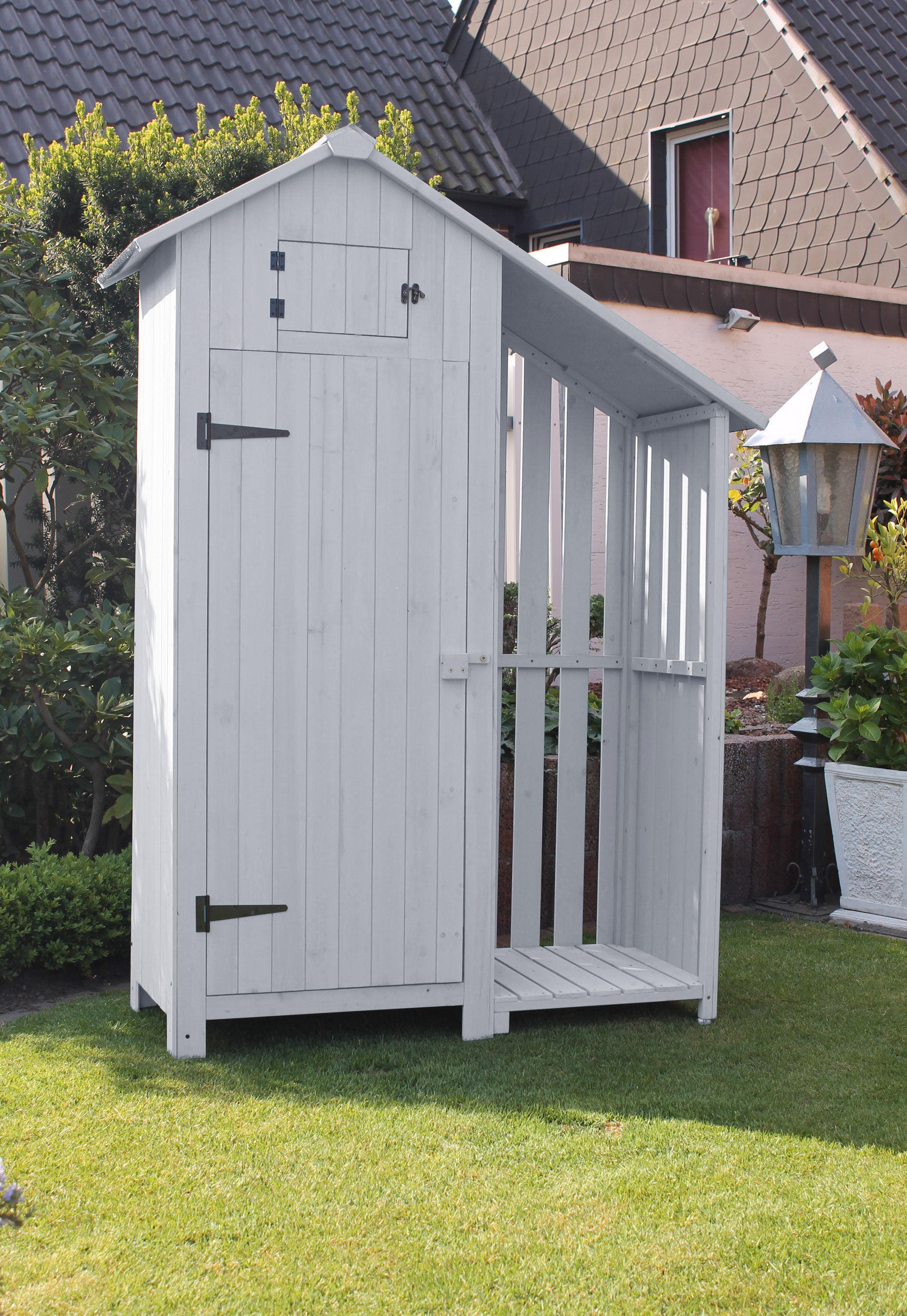 Gartenhaus Holz Weiß JB62 – Hitoiro