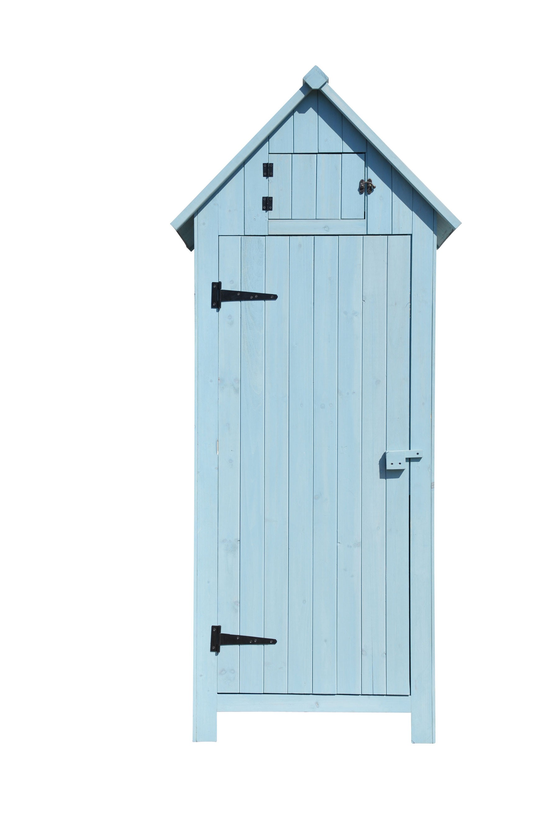 leco gartenschrank im vintage look holz mint 77x55x179cm. Black Bedroom Furniture Sets. Home Design Ideas