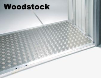 Bodenplatte Alu für Biohort Europa Gr.2a, Geräteschrank, Woodstock230 Bild 2