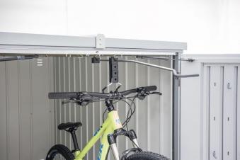 Fahrradhängeschiene ausziehbar für Biohort MiniGarage Bild 1