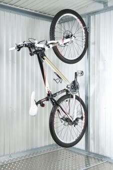 Fahrradhalter 2er-Set bikeMax für Biohort Europa und Geräteschrank Bild 1