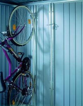 Fahrradhalter 2er-Set bikeMax für Biohort Europa und Geräteschrank Bild 2