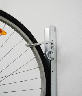 Fahrradhalter 2er-Set bikeMax für Biohort Europa und Geräteschrank Bild 4