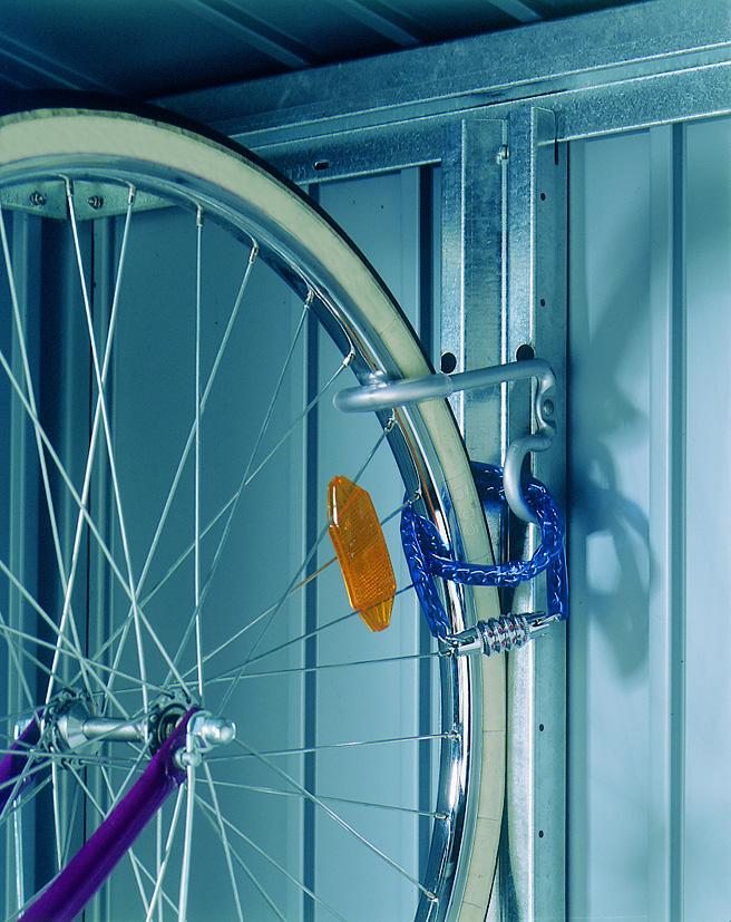 Fahrradhalter bikeMax für Biohort Europa und Geräteschrank Bild 1