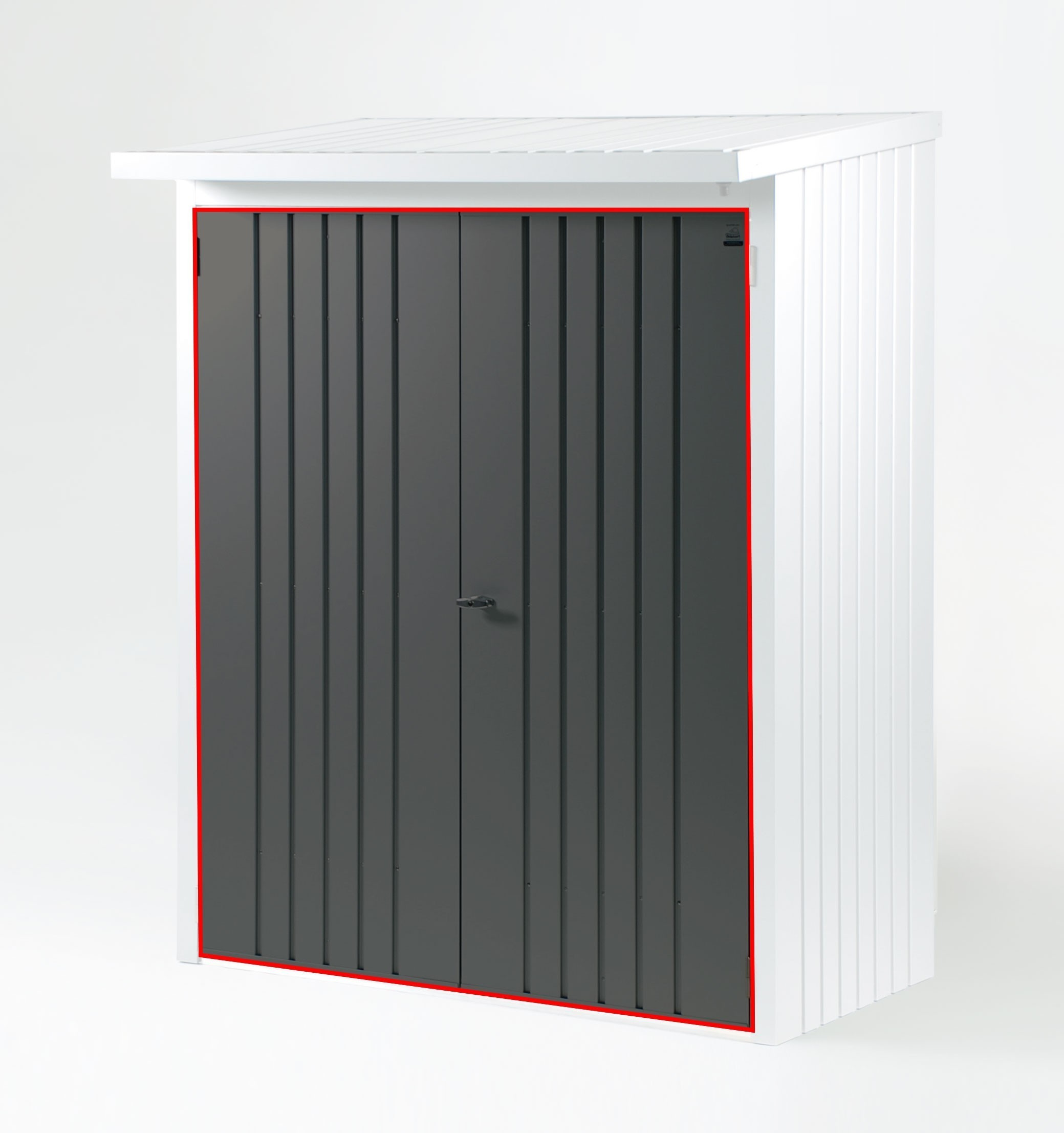 t rpaket biohort kaminholzregal ger teschrank woodstock 230 quarzgrau bei. Black Bedroom Furniture Sets. Home Design Ideas