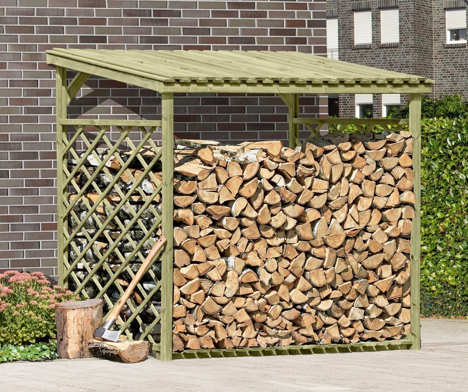 kaminholzregal brennholzregal 237x114x203 cm holz kdi bei. Black Bedroom Furniture Sets. Home Design Ideas
