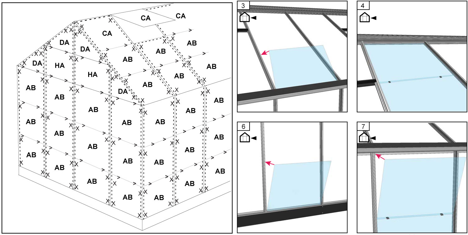 gew chshaus juliana altan 3 1 33m alu 3mm blankglas bei. Black Bedroom Furniture Sets. Home Design Ideas