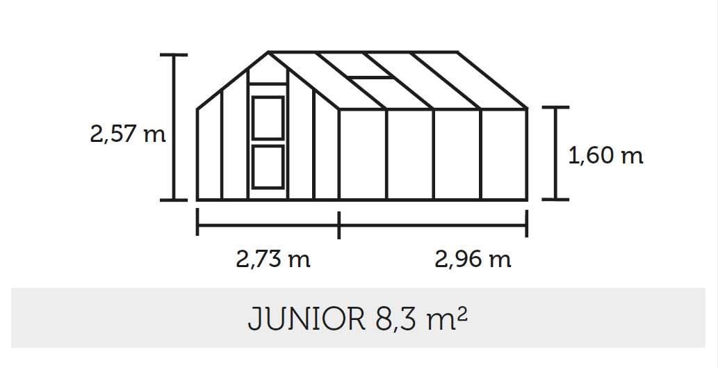 gew chshaus juliana kompakt 8 3 alu 6mm. Black Bedroom Furniture Sets. Home Design Ideas