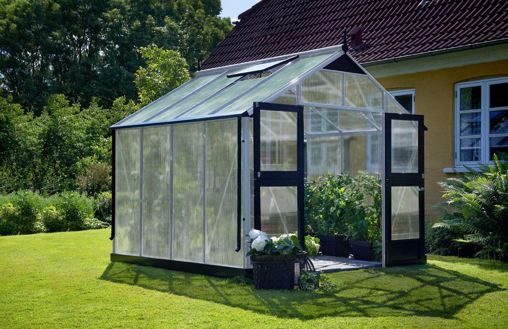 juliana gew chshaus premium 8 8m alu silber 10mm. Black Bedroom Furniture Sets. Home Design Ideas